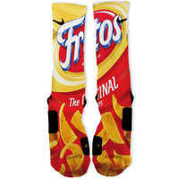 Fritos Original Custom Nike Elite Socks