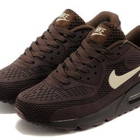 hcxx Nike Air Max 90 Essential Brown rice