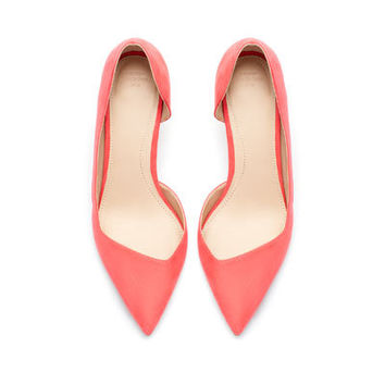 MEDIUM HEEL COURT SHOE - Shoes - TRF - New collection | ZARA United States