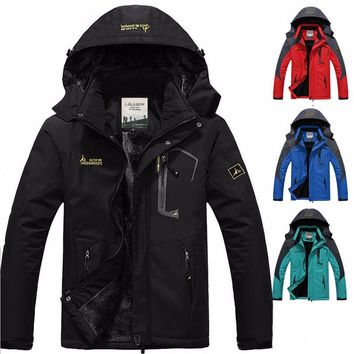 Winter Wind Parka hooded Jacket