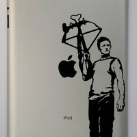 Walking Dead inspired Daryl Dixon iPad Decal