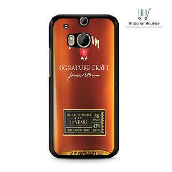 jim beam whiskey For HTC One M7 M8 | M9 Case