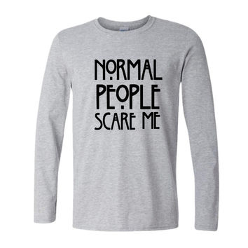 American Horror Story Normal People Scare Me Long Sleeve T-Shirt