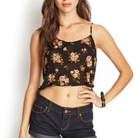 FOREVER 21 Basic Cuffed Denim Shorts Dark Denim 28