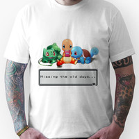 "Pokemon ""Missing the old days..."" Unisex T-Shirt"