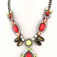 Lookin' Snazzy Statement Necklace
