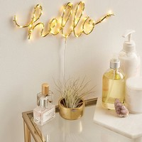 Hello Light Sculpture | Urban Outfitters