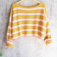 free people - just my stripe pullover - multi