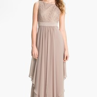 Women's Eliza J Sleeveless Lace & Chiffon