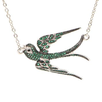 KIVN The Latest Design Choker Swallow Shaped Necklace Women Fashion Necklaces & Pendants Trendy Jewelry Gift For Woman Girl