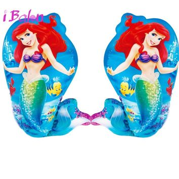 The Little Mermaid Balloons 10pcs 40x60cm Ariel Cartoon Princess Maylar Globos Kids Birthday Decoration Party Supplies Ball