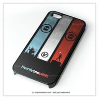 Twenty One Pilot iPhone 4 4S 5 5S 5C 6 6 Plus , iPod 4 5 , Samsung Galaxy S3 S4 S5 Note 3 Note 4 , HTC One X M7 M8 Case