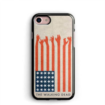 American Flag iPhone X Cases Samsung Case The Walking Dead iPhone 8 Plus Cases