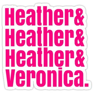 Heathers Hot Pink Design by SailorMeg