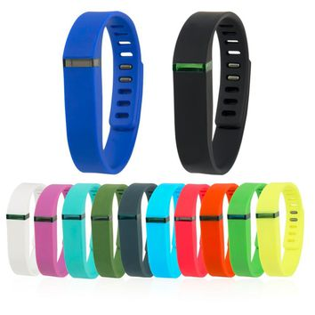 2017 Large And Large Replacement Wrist Band & Clasp For Fitbit Flex Bracelet