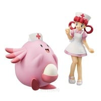 POKEMON Mega House Non Scale Figure : Joy & Chansey [PRE-ORDER] - HYPETOKYO