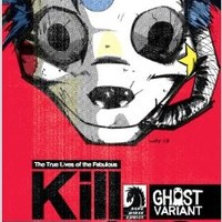 True Lives of the Fabulous Killjoys #1 Ghost Variant Gerard Way Cover