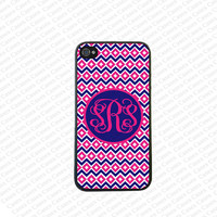 Monogram iPhone 5s case, Monogram Iphone 5 Case, Cute Monogram iPhone 5 Cover,Monogram Case