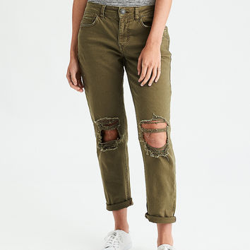 Tomgirl Pant, Olive