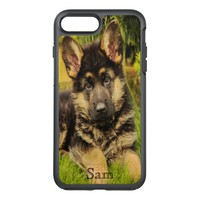 Custom pet dog add your photo OtterBox symmetry iPhone 7 plus case