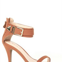 Single Sole High Heel with Gold Plating