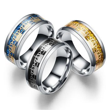 The Explosion And Titanium Crown Ring Fashion Jewelry Source Of Original Personality Index Finger Ring