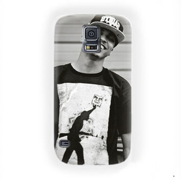 August Alsina Black White Poster For Samsung Galaxy S5 Case