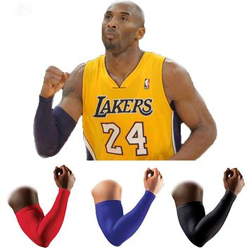 Breathable Elastic Sports Protective Forearm Elbow Pad Armguards