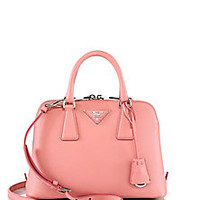 Prada - Mini Saffiano Leather Shoulder Bag - Saks Fifth Avenue Mobile
