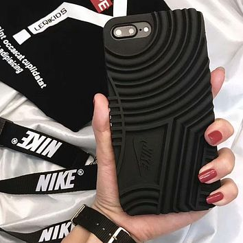 NIKE Air Force 1 New Stylish iPhone 6/7/8/X Phone Case Cover F-OF-SJK Black
