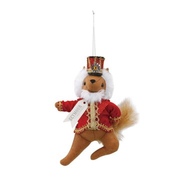Seymour the Squirrel Nutcracker Theater Ornament by Christmas Theater