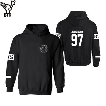 BTS Hoodies Women Kpop BTS Bangtan Boys sweatshirt Womens hoodie bts album plus size 4XL