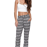 LA Hearts Challis Tribal Pants at PacSun.com