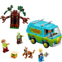 Bela Scooby Doo Mystery Machine Bus Minifigures Building Block Minifigure Toys 10430 Compatible With P029 Birthday