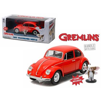 1967 Volkswagen Beetle Gremlins Movie (1984) Gizmo Figure 1:24 Diecast Model Car