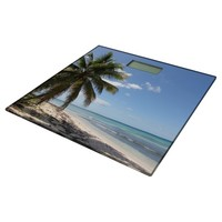 Isla Saona Caribbean Paradise Beach Bathroom Scale