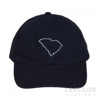 State Outline Baseball Hat | Lakeside Cotton