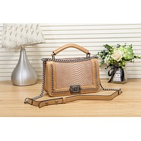 Women Fashion Leather Chain Satchel Shoulder Bag Handbag Crossbody