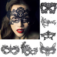 Halloween Props Sexy Lace Party Masquerade Mask Venetian Costume