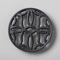 Cast Iron Trivet - Black - Hearth & Hand™ with Magnolia