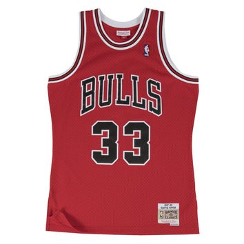 SCOTTIE PIPPEN SWINGMAN JERSEY - CHICAGO BULLS