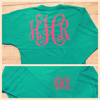 YOUTH/GIRLS Monogram Jersey PomPom Pullover
