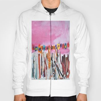 FLOWERS STiLL GROW Hoody by Azima