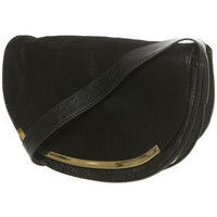 Black Half Moon Cross Body Bag - Glam Underground  - Designers  Collections  - Topshop