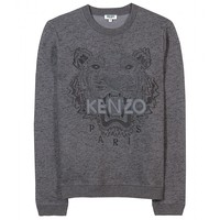mytheresa.com -  Embroidered Tiger Pullover | Kenzo » mytheresa.com - Luxury Fashion for Women / Designer clothing, shoes, bags
