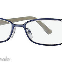 NEW AUTHENTIC FENDI F731 COL 207 BLUE ICE METAL EYEGLASSES FRAME F 731