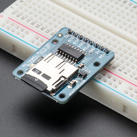 MicroSD card breakout board+ ID: 254 - $14.95 : Adafruit Industries, Unique & fun DIY electronics and kits