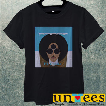 Low Price Men's Adult T-Shirt - Prince Rogers Nelson Hit and Run design