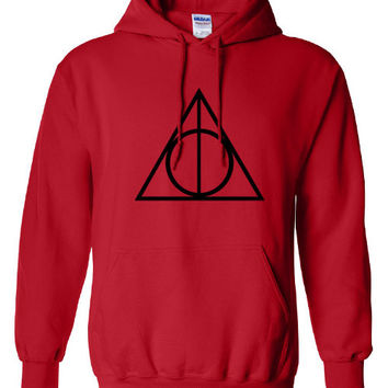 Red Harry Potter Hoodie Sweatshirt