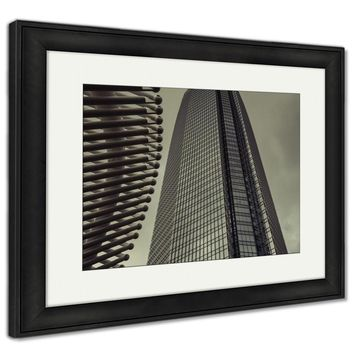 Framed Print, Tall Skyscraper In Oklahoma City